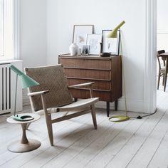 Arne Jacobsen Lamp In Situ via Catlin Stothers