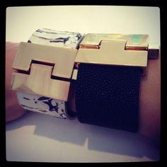 My Leighelena jigsaw cuff collection