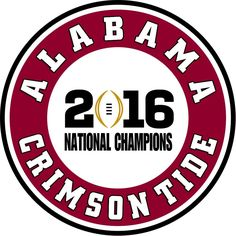 Alabama Crimson Tide 2016 National Champions