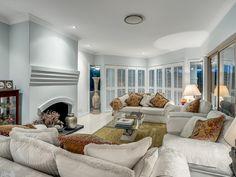 5 Rees Way, Brookfield // Mario Sultana Brisbane Queensland, Living Spaces, Living Room, Property Management, Luxury Living, Open Plan, Crisp, Mario, Neutral