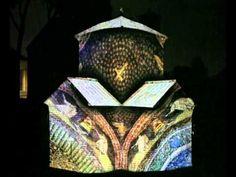 "Ravenna, Mausoleo di Galla Placidia, ""Visioni di eterno - Galla Placidia Shines on"" , lighting performance during the summer time"