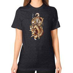Kyuubi no Kitsune Unisex T-Shirt (on woman)