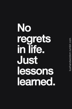 No regrets. Get more wisdom on Younger on TV Land. Discover full episodes at http://www.tvland.com/shows/younger.