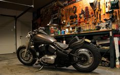 Another Kawasaki VN800 Vulcan bobber by Atari-san Kustom Chopper Works