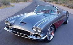 Z06 LS7 powered 1961 Chevrolet corvette +overhead