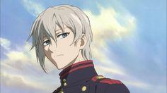 Owari no Seraph / Seraph of the End / Shinya Hiragi Anime Boys, Dark Anime Guys, Cute Anime Boy, Manga Anime, Anime Art, Manhwa, Male Character, Mikaela Hyakuya, Handsome Anime Guys