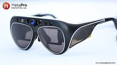 Meta Pro promises Tony Stark-style computing with a $3,000 pair of sunglasses