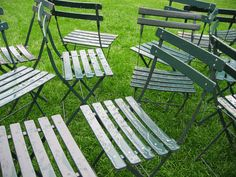 This is movable seating in the Bryant Park.