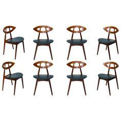 Set of 8 Ejvind A. Johansson Chairs
