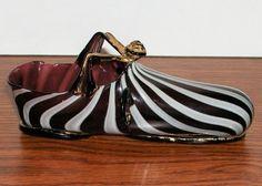 #Renaissance #Glass: #Shoe   Corning Museum of Glass Ceramic Shoes, Glass Ceramic, Glass Figurines, Collectible Figurines, Glass Shoes, Corning Museum Of Glass, Shoe Department, Kinds Of Shoes, Glass Slipper