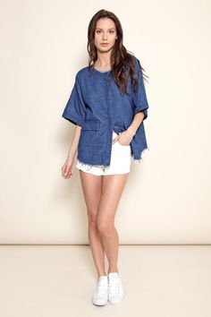 Savannah shirt jacket – Atelier Delphine