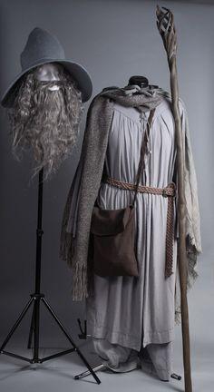 Gandalf Costume Gandalf the Grey, Mithrandir, Wizard Costume, Hobbit, LOTR, Lord of the Rings, Wizard Staff, Wizard Hat, DIY Costume, Halloween Costume, Homemade Costume, @shoocat Wizard Costume, Witch Costumes, Boy Costumes, Costume Halloween, Costume Ideas, Hobbit Tolkien, O Hobbit, Lotr, Elf Cosplay