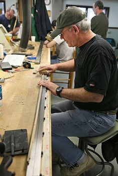 Bamboo Fly Rod Making Class at the John C. Campbell Folk School   folkschool.org #folkschool #brasstown