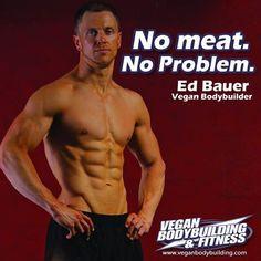 Vegan Bodybuilders No Meat No Problem! Go Vegan Beast Mode Bodybuilding Training, Bodybuilding Workouts, Fitness Photos, You Fitness, Health Fitness, Fitness Bodies, Bodybuilder, Famous Vegans, Photo Ed