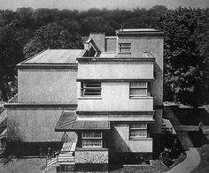 Abrahamson Residence (1928) in Berlin, Germany, by Martin Punitzer