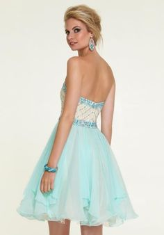 Stunning 2015 Mori Lee Sticks & Stones Short Prom Dress 9306