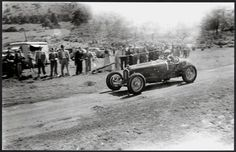 Lex Davison, Alfa Romeo P3, Rob Roy Hillclimb, Melbourne mid-fifties (George Thomas)...