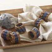 Tennille Woven Napkin Rings #birchlane