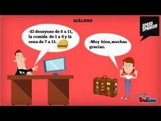 Spanish Lesson: En la recepción de un hotel - YouTube