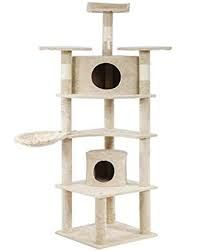 BestPet Cat Tree Kitty Tree Cat Condo Cat House Cat Tower for Large - Cat store galore Cat Tree Condo, Cat Condo, Furniture Scratches, Bed With Posts, Cat Store, Condo Furniture, Cat Towers, Cat Scratching Post, Dry Cat Food
