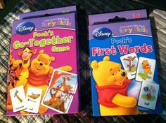 "2 Pkgs Educational ""Go Together"" 1st Words Flash Cards Early Skills PreK K 