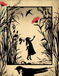 "Hans Christian Andersen ""Thumbelina"" on Behance"
