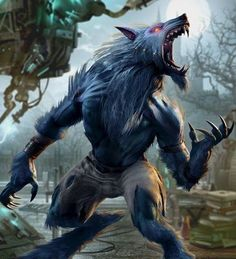 Killer Instinct's Sabrewulf Born into a venerable and aristocratic German family, Baron Konrad von Sabrewulf was a well-educated but idle man, prone to addiction and vice. Female Werewolves, Vampires And Werewolves, Furry Art, Fantasy Creatures, Mythical Creatures, Dark Fantasy, Fantasy Art, Werewolf Art, Fantasy Monster