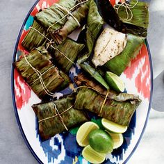 In our banana leaf-grilled fish recipe, banana leaves impart a sweet and grassy aroma to fish while also keeping the fillets from sticking to the grill.