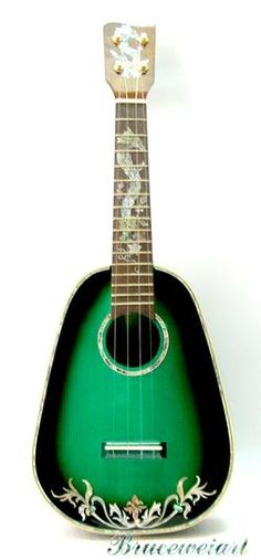 Bruce Wei ukuleles: beautiful, but hit or miss for playability.