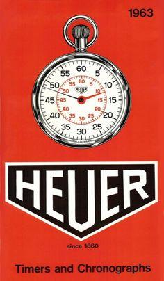 Heuer poster 1963