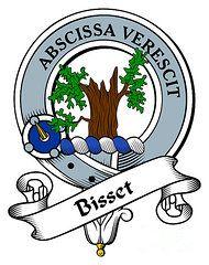 Example of Scottish clan badge.
