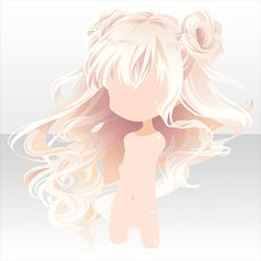 File:(Hairstyle) Dancing Girl Buns Half Up Hair ver. Character Inspiration, Hair Inspiration, Character Design, Pelo Anime, Chibi Hair, Manga Hair, Hair Sketch, Cocoppa Play, Hair Reference