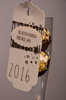 Brigittes Stempelstelle: Kleines Silvester-Geschenk