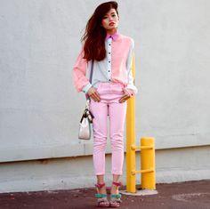 Pastel Love #blog #style #fashion