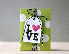 Gift Tags with Laura Bassen! Created using Simon Says Stamp Exclusives.  2013