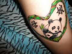 Fresh Panda Tattoo
