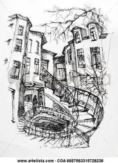 Las escaleras embrolladas