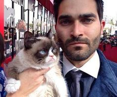 teen wolf-Is that grumpy cat and sour wolf together forever
