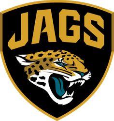 NFL Jacksonville Jaguars Shield x Color Decal WinCraft Jacksonville Jaguars Logo, Wall Logo, Nfl Gear, Football Conference, Professional Football, Decoration, Team Logo, Vinyl Decals, Tattoo Ideas