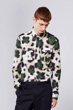 KENZO men love jungle prints! Shop leopard, zebra, tiger