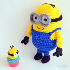 Dave the Minion and Cupcake - Pops de Milk