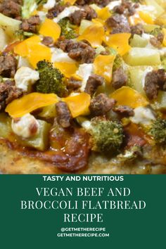 If you clicked on this and you are thinking, UM WHATTTT is a beef and broccoli flatbread, it is exactly what it sounds like! Seasoned and saucy broccoli with Impossible or Beyond beef and some sliced potatoes and topped with vegan cheddar cheese. You can make your own pizza dough from my recipe or you can buy a pre-made dough, whichever is easiest for you. Your friends won't even know or care that this is vegan beef and broccoli and anyone you share with will be instantly obsessed with you! Vegan Flatbread Recipes, Vegan Dinner Recipes, Vegan Dinners, Vegan Cheddar Cheese, Vegan Beef, Make Your Own Pizza, Broccoli Beef, Sliced Potatoes, Pizza Dough