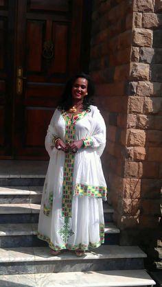Ethiopian dress Beautiful African Fashion