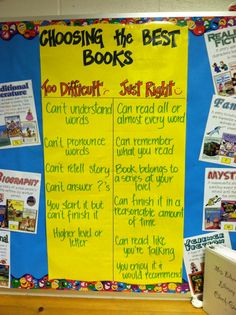Choosing Just Right Books
