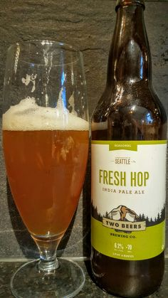 Two Beers Fresh Hop IPA. Watch the video beer review here…