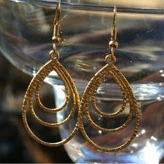 Nickel Free Egyptian Princess Earrings - fantasy, adventure, romance - but no nickel