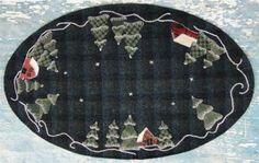 Winter Pines   Primitive gatherings