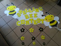 Degree Surprises May Await Some Adults Going Back To School Bees For Kids, Bee Crafts For Kids, School Wall Decoration, School Decorations, Grade Spelling, Spelling Bee, Spell Bee Competition, Bee Activities, Panda Birthday Party