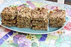 Baked Oatmeal Snack Bars