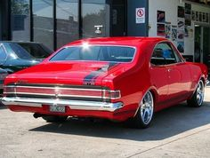 1969 Holden HK Monaro - This is gorgeous and I don't remember seeing a red one, way back. S